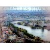 Graffitee Studios Views from the Pru 'Charles River' Graphic Art on Wrapped Canvas