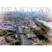 Graffitee Studios Views from the Pru 'Beantown' Graphic Art on Wrapped Canvas