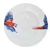 Catchii Birds of Paradise 27.2 cm Parrot Head and Tail Pasta Plate