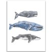 """Jetty Home 10"""" H x 8"""" W Whale Painting Print"""