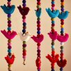 Paper High Fair Trade Felt Bird Hanging Wall Décor