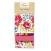 Cooksmart Floral Romance 3-Piece Tea Towel Set