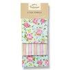 Cooksmart Vintage Floral 3-Piece Tea Towel Set