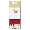 Cooksmart Chicken 3-Piece Tea Towel Set
