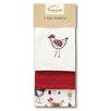 Cooksmart Chicken 3-Piece Tea Towel Set