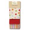 Cooksmart Spots 3-Piece Tea Towel Set