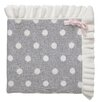 Elegant Baby Dot Ruffle Blanket