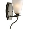 Progress Lighting Cantata Wall Sconce in Forged Bronze