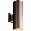 Progress Lighting Cylinder 2 Light Sconce