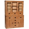 Hallowood Furniture London Solid Oak Display Cabinet