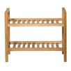 Hallowood Furniture New Waverly 2 Tier Narrow Shoe Rack