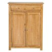 Hallowood Furniture New Waverly Oak Storage Cabinet with Drawer