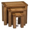 Hallowood Furniture Rochester 3 Piece Nest of Tables