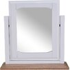 Hallowood Furniture Devon Rectangular Dressing Table Mirror