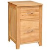 Hallowood Furniture Camberley 2 Drawer Oak Cabinet