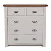 Hallowood Furniture Ascot 5 Drawer Chest of Drawers