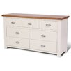 Hallowood Furniture Ascot 7 Drawer Chest of Drawers