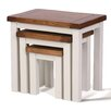 Hallowood Furniture Ascot 3 Piece Nest of Tables