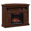 "ClassicFlame Windsor TV Cabinets for TVs up to 50"" with Electric Fireplace"