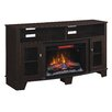 "ClassicFlame La Salle TV Cabinets for TVs up to 65"" with Electric Fireplace"