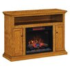 "ClassicFlame Cannes TV Cabinets for TVs up to 50"" with Electric Fireplace"