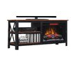 "ClassicFlame Grainger TV Stand for TVs up to 60"" with Electric Fireplace"