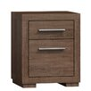 Jarstol Las Vegas II Bedside Table with 2 Drawers