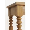 Langer Naturholzmöbel Beistelltisch Olinda