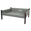Henry Wag Elevated Dog Bed in Grey