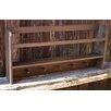 Red Fox Primitives, LLC Bowl Rack Shelf with Pegs