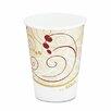 Solo Cups Company Symphony Design Hot Cups, 1000/Carton