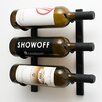VintageView Wall Series 3 Bottle Wall Mounted Wine Rack