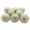G Decor Crackle Door Knob (Set of 4)