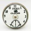 G Decor Paris Clocks Door Knob (Set of 4)