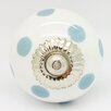 G Decor Polka Dots Door Knob (Set of 4)