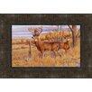 Tangletown Fine Art The Bryant Buck Framed Painting Print