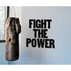 BLIK Inc. Fight the Power Wall Decal