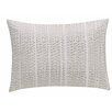 Richloom Home Fashions KAS Gabriel Cotton Lumbar Pillow