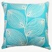 Richloom Home Fashions Crosby Leaf Decorative Cotton Throw Pillow