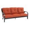 Royal Garden Indigo Sofa with Cushion