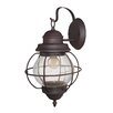 LNC Home 1 Light Outdoor Wall Lantern