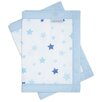 KooltradeLtd Printed 2 Sided Stars Cot Bumper