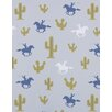 Hibou Home Cactus Cowboy 10m L x 52cm W Roll Wallpaper