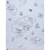 Hibou Home Pirate Seas 10m L x 52cm W Roll Wallpaper