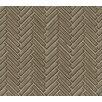 "Grayson Martin Herringbone Mosaic 11"" x 12.25"" Porcelain Tile in Gray"