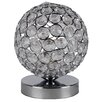 First Choice Lighting Crystal Touch 18cm Table Lamp