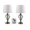 First Choice Lighting 43cm Table Lamp (Set of 2)