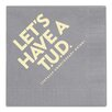 Breathless Paper Co. Let's Have a T.U.D. Cocktail Napkin (Set of 25)