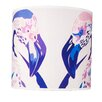 Chloe Croft London 30.5cm Lilac Flamingos 100% Polyester Drum Lamp Shade