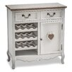 Maine Furniture Co. Romance 16 Bottle Tabletop Wine Cabinet